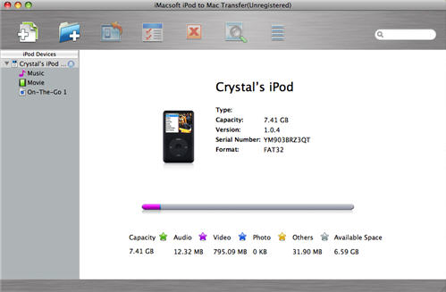 iPod to iTunes Transfer